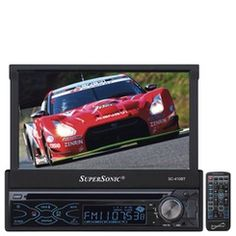 "SuperSonic® 200-watt 7"" In-Dash Entertainment System"