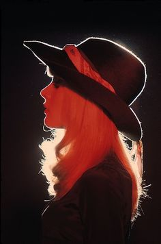 I don't know if it's the lighting or that hat but this girl's KILLIN' it. <--Agreed.