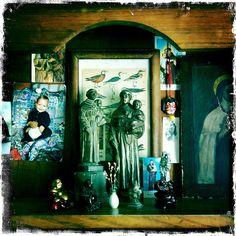 my home shrine by daniele carrer, via Flickr  #shrines #religious