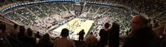 The Breslin Center on the campus of Michigan State University.