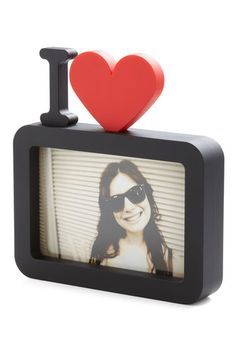 Close-up to Heart Photo Frame, #ModCloth