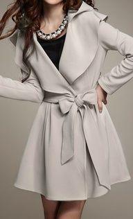 jacket, fashion, cloth, style, dress, bows, closet, trench coats, winter coats