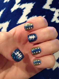 Seattle Seahawks nails!!!