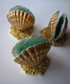 Chocolate Seashells by Connie Cupcake