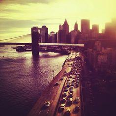 brooklyn bridge, dream, sunsets, nyc, new york city, city skylines, bridges, place, york citi
