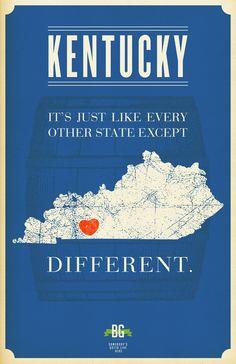 Kentucky is...