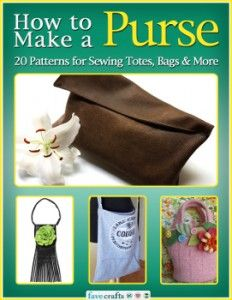 Carry On: 20 Purse Patterns Featured in New Free eBook from FaveCrafts pattern featur, women bags, purs pattern, 20 purs, purse patterns, sewing patterns