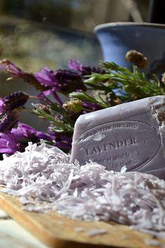 lavender & soap