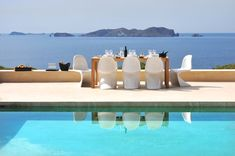 The views from this 5 br home in Ibiza are truly amazing