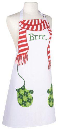 Brrr Hostess Apron ~ 17 Retro Christmas  Aprons