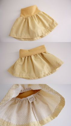 Easy Baby Skirts - 5 different little girls' DIY skirt tutorials from old t-shirts