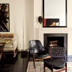 Living Room: Architectural Digest