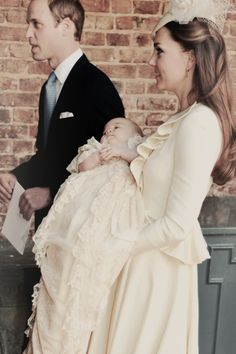 Prince William & Kate | Prince George's Christening