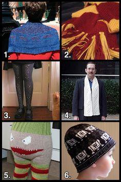 Geek Crafts Roundup: Cozy Yarn Crafts from @Haley Pierson-Cox