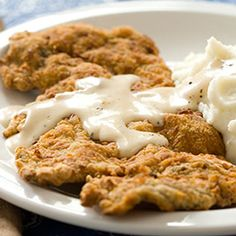 Chicken Fried Steak :: America's Test Kitchen :: Recipes  *Made this and it was the best ever!!!!!