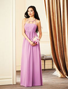 Alfred Angelo Bridesmaid Style 7270L in Royal Bloom