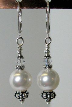 Easy pearl drop Earrings