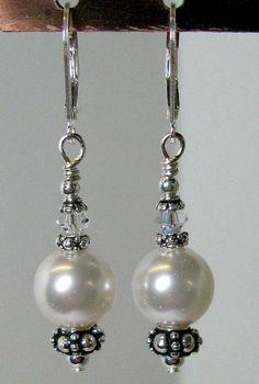 Easy pearl drop Earrings