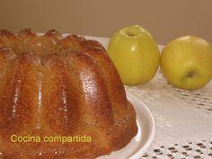 Bizcocho suave de manzanas