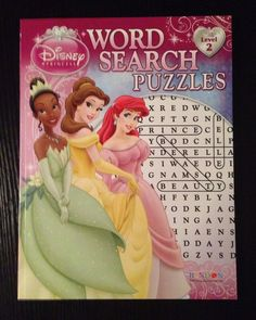 Disney activity book on Pinterest