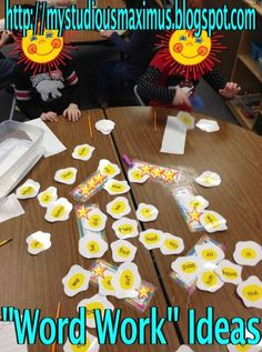 small group, work idea, word work, group read, kindergarten read