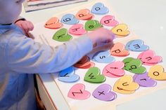 valentine activity match lower case to upper case letters & other games