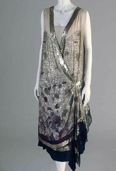 20er Jahre Paillettenkleid