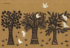 Gobble You Up: Ancient Indian Women's Folk Art, Reimagined as Stunning Modern Storytelling | Brain Pickings