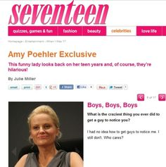 amy poehler continues being a badass