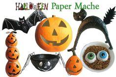 Halloween paper mache