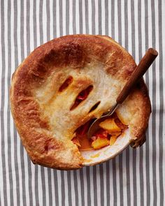 Winter-Vegetable Red-Curry Potpie Recipe