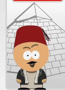 In 2006, Air Arabia used South Park characters in Middle Eastern dress on its website
