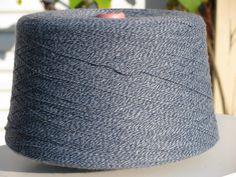 Blue Tones Marl Acrylic Yarn on Cones by stephaniesyarn on Etsy, $9.95