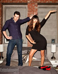 I love Schmidt and Cece.