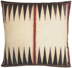 Backgammon pillow....I love this