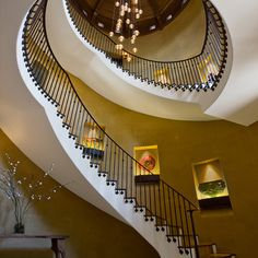 architect, spirals, stairs, stairway, dream, staircase design, hous, pendant lights, spiral staircases