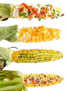 Juicy summer-fresh corn is one of the season's greatest pleasures. First, grill up some ears. Then, slather on the toppings. And don't stop at butter. We didn't.