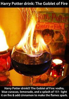 Harry Potter Goblet of Fire drink