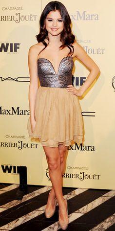 Selena Gomez pretty dress