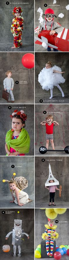 Halloween #costumes don't get much cuter than this! 10 creative ideas, perfect for kids (and parents) of all ages.