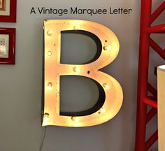 Easy Vintage Marquee