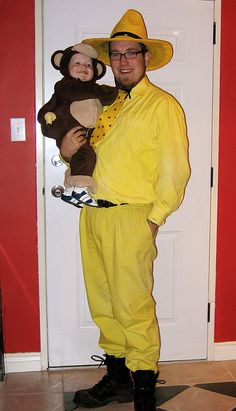 Curious George and the Man With the Yellow Hat costume!