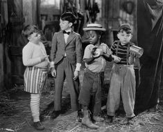 How many of you remember the Little Rascals?  Spanky, Alfalfa, Buckwheat and Porky.