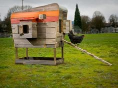 My chickens will rock a coop like this.