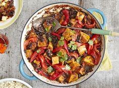 Curry de fasole roșie și cartofi dulci