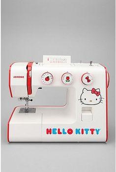 Hello Kitty Sew Cute Sewing Machine $199
