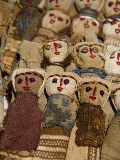 Hand made Ecuadorian burlap dolls, Otavalo Market, Ecuador