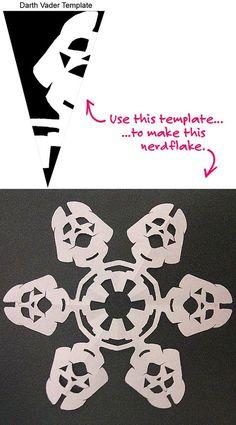 Darth Vader snowflake!