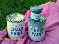 Using chalk paint