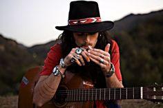 dream man, johnny depp, style, mountain man, devendra banhart, boho, gypsi, eyes, hat